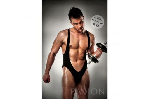 body 011 jockstrap black men lingerie by passion s m