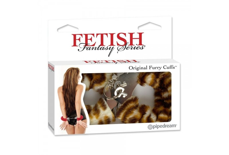 fetish fantasy esposas estampado tigre