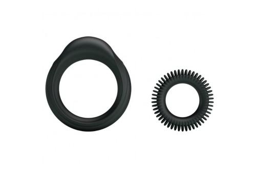 kit 2 anillos silicona ring manhood