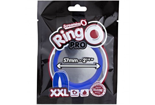 screaming o anillo pene y testiculos ring o xxl azul