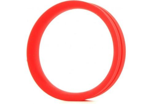 screaming o anillo pene y testiculos ring o xxl rojo
