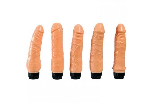 sevencreations set 5 vibradores realisticos