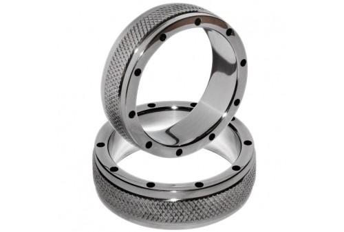 metalhard anillo metal para pene y testiculos 45mm