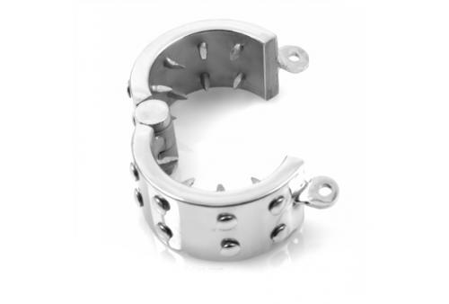 metal hard anillo castidad anti erección