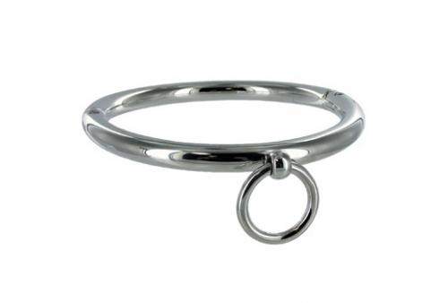metalhard bdsm collar con argolla 18cm