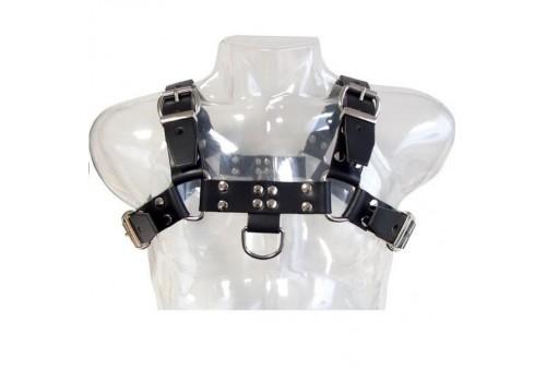 leather body chain harness iii