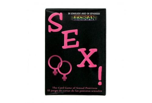 sexo lesbiano juego de cartas