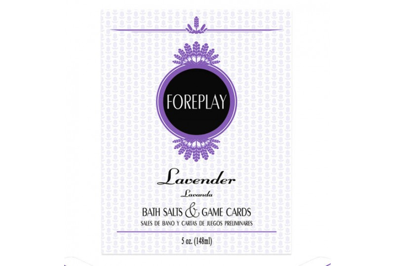foreplay sales de baño y cartas de juegos