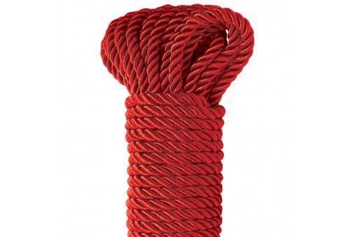 fetish fantasy series deluxe cuerda seda rojo 975 metros