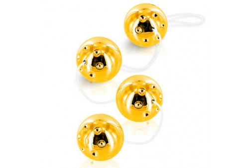 duoballs gold geisha 4 pcs