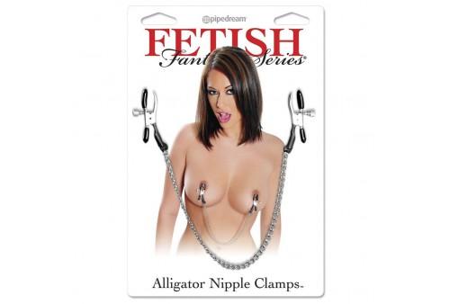 fetish fantasy pinzas con cadena para pezones